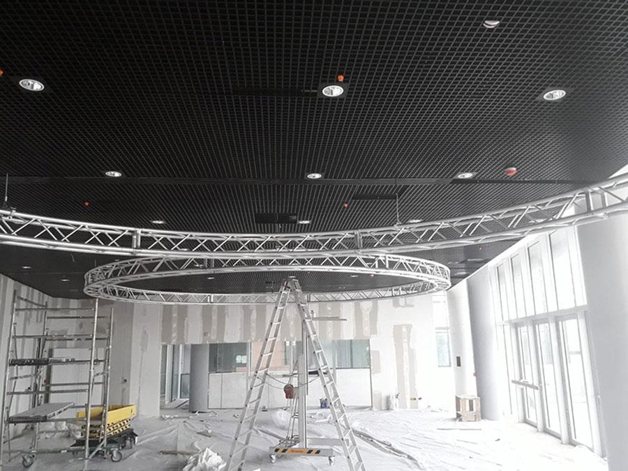 Palazzo IBM – tralicci sala conferenze