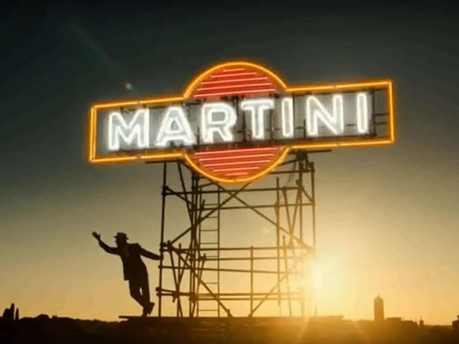 Spot Martini- Begin Desire – Streets of Rome – neon vintage